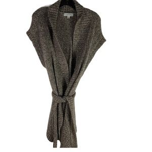 Merona Wool Blend Sleeveless Cardigan Sweater